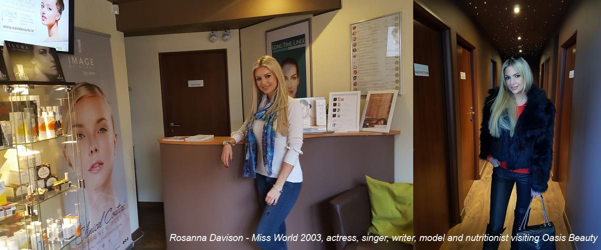 Rosana Davison at Oasis Beauty in Dublin 7 Smithfield