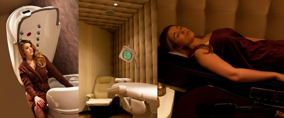 Spa capsule and thermal jade massage bed