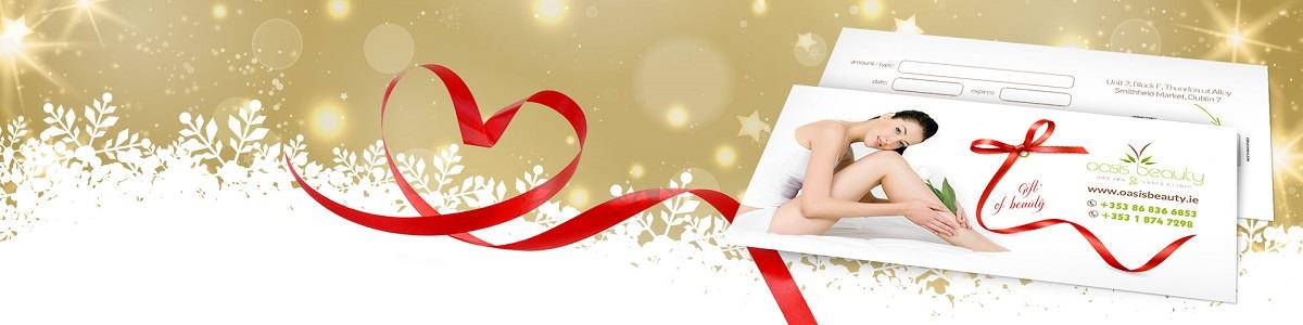 Christmas gift vouchers for spa and skincare and beauty treatments in Dublin 7 Smithfield